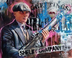 Peaky Blinders II by Zinsky -  sized 39x32 inches. Available from Whitewall Galleries